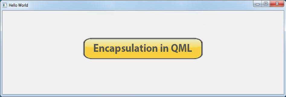 QML Button