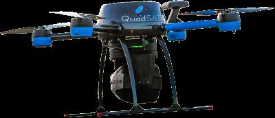 QuadSAT drone