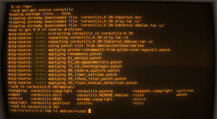 Git repositories in Debian
