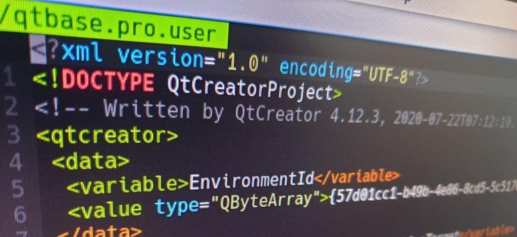 Git repositories in Qt